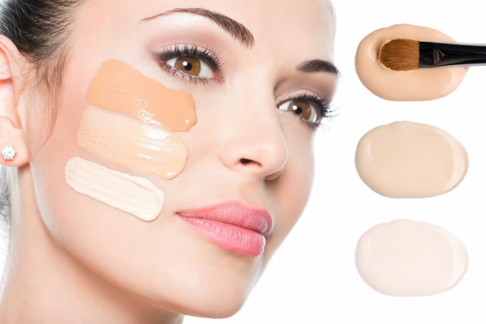 Choose the right base for your skin tone