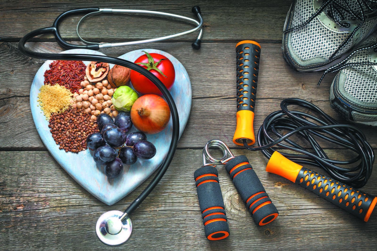A great diet will make your health soar.