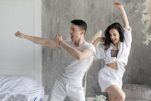 exercise benefits the couple