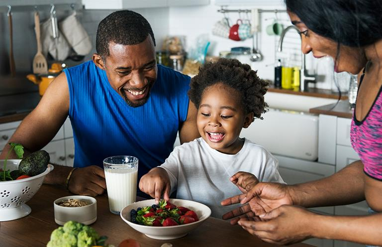 Proper nutrition is beneficial for mind and body