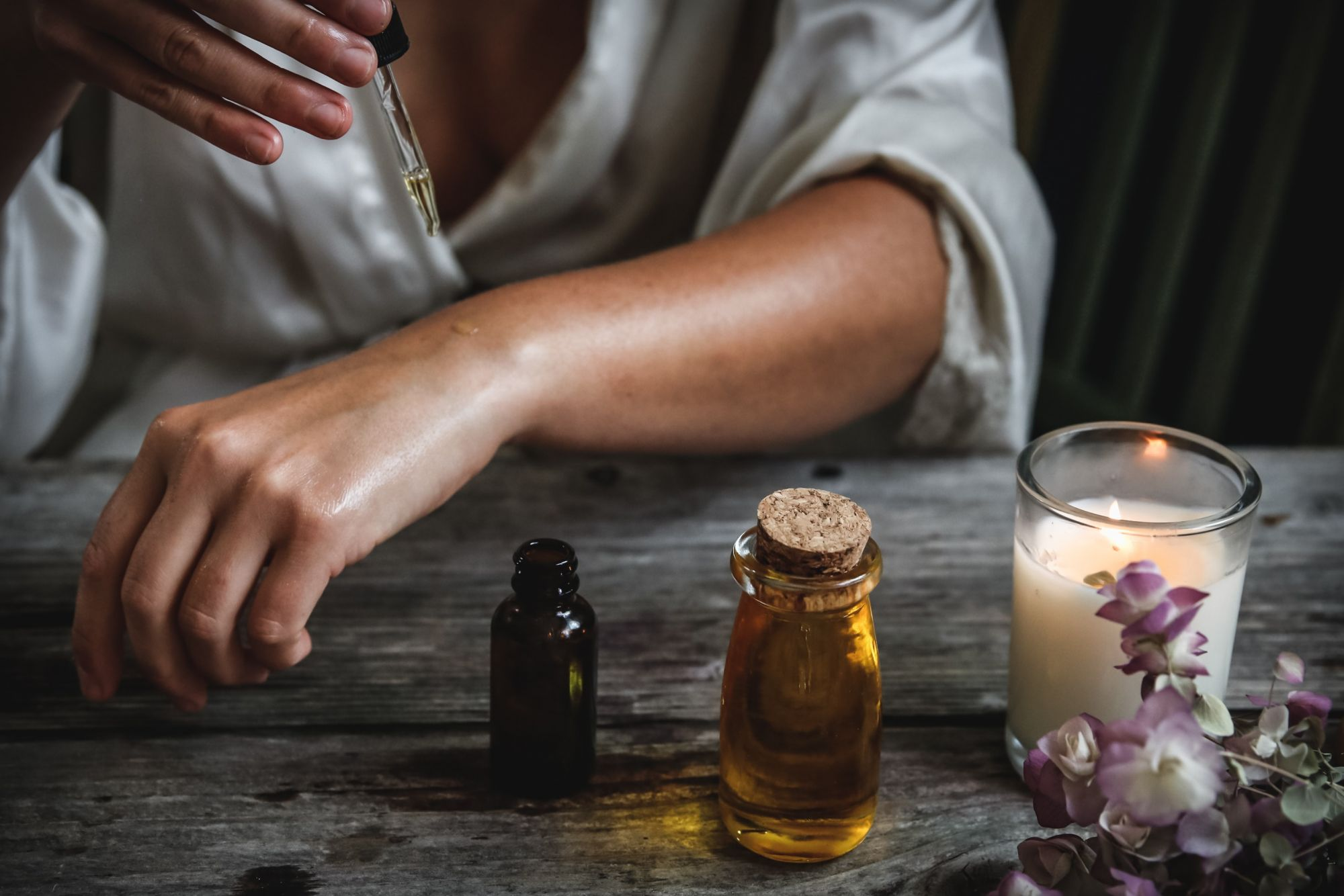 wellness essential oils relax
