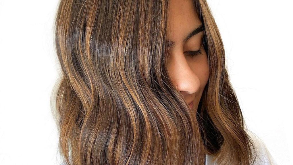 tweed hair color trend