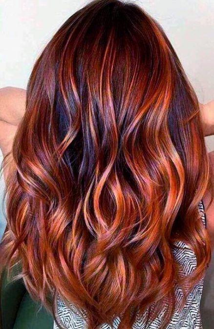 copper rusty hair color