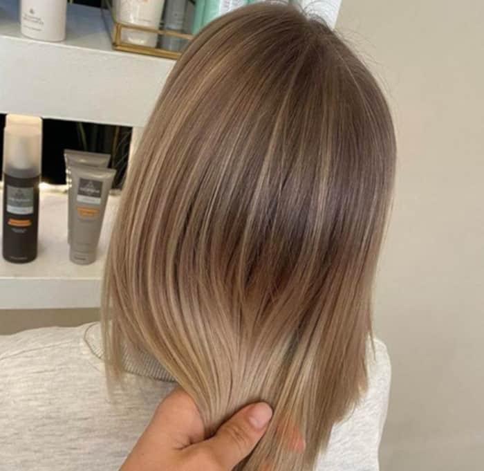 Sand storm hair color